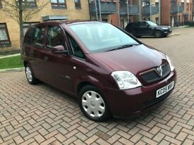 Vauxhall Meriva 1.6 i 16v Enjoy Easytronic 5dr (a/c) Only done 26000 One Owners from new,HPI Clear