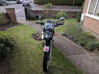 125cc Yamaha YBR custom (12 months MOT)