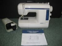 Frister Rossmann sewing machine - compact size but fully functional