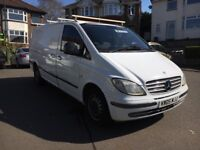 Mercedes Vito 100 CDI 2.2 lwb has MOT VGR £2850 Like vw Transpoter ford transit Renault master Swap