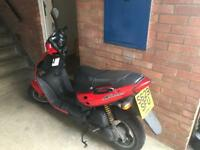 Suzuki Katana AY 50 1999 50cc moped, owned from new 4.5k miles on the clock
