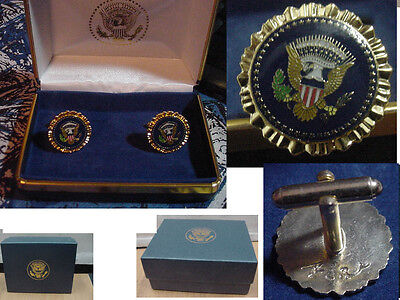Pair Of  New  Presidential George W Bush Cufflinks   West Wing