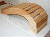 Yoga handmade back bender bench