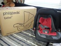 Phil and Teds Brand new bebe baby car seat.