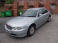 ROVER 75 2.0 BMW DIESEL ENGINE FULL MOT 2002 V.CLEAN INSIDE AND OUT