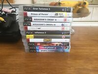 PS3 Bundle inc games & move sticks!
