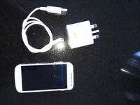Samsung Galaxy S4 mini + USB charging cable new condition