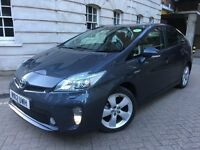 TOYOTA PRIUS T SPIRIT 1.8 VVTI = HYBRID = PCO UBER READY = 2012 REG = NEWER SHAPE = £9350 ONLY =