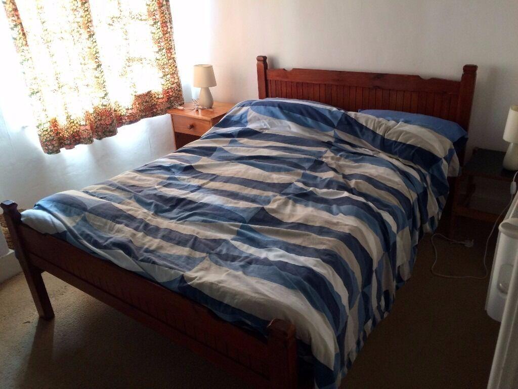Tavistock Bedroom Furniture Double Pine Bed Located In Bovey Tracey In Tavistock Devon