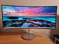 Samsung LC34F791WQUXEN 34inch UWQHD 100hz QLED Curved Ultrawide Monitor Stereo Speakers