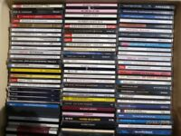 Collection of over 80 Compact Discs