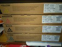 Ricoh Original Set Of Four Cartridges BRAND NEW / UNOPENED C3501