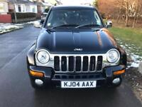 Jeep Cherokee 2.8CRD Limited edition Clive sutton