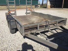 PLANT TRAILER NEW TYRES NEEDS TLC BUT PRICED TO SELL CALL07732674590 FOR MORE INFO