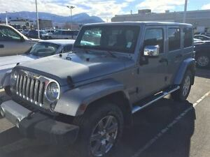 2015 Jeep WRANGLER UNLIMITED Sahara 4X4 heated seats, Nav, Bluet