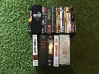 40 DVD movies, Star Wars, Clint Eastwood, Back To The Future and more films