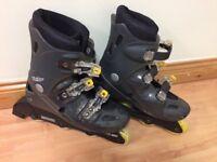 Inline skates - Black (Size 4)