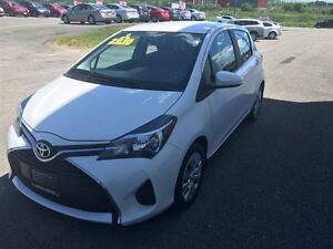 2015 Toyota Yaris LE, LOADED WITH OPTIONS, ONLY 13, 000KM., A/C