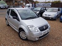 Citroen C2 1.1 i Furio 3dr, HPI CLEAR, GOOD CONDITION, 2 FORMER KEEPERS. P/X WELCOME