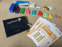Numicon Maths Bag Set - as new condition
