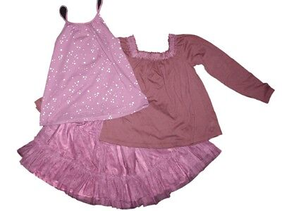 Toddler Girl Baby Gap Starry Night Tank Top Tulle Skirt Oufit Set Size 4T 5T