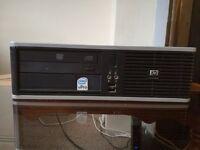 Hp Compaq dc7800p SFF, Core 2 Duo 2.33GHz, 4GB RAM, 160GB HDD, DVD RW