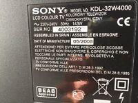 Sony Bravia 32 inch LCD Digital Colour TV