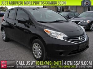 2015 Nissan Versa Note 1.6 SV | Rear Camera, Bluetooth, Cruise