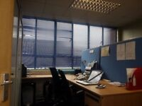 Office share. Share half my office. 2 desks in South Woodford, Maybank Road, E18
