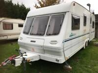 Caravan 4/5/6 berth Lunar solar eclipse twin axle 2001 fantastic condition full awning available