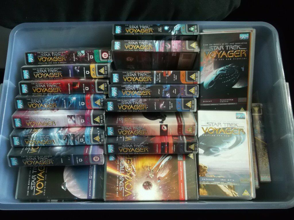 Entire Star Trek Voyager Series On VHS.