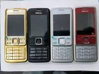 Uk Stock Orignal Nokia 6300-Gold,Red,Silver,Black(Unlocked)Brand New With Warranty