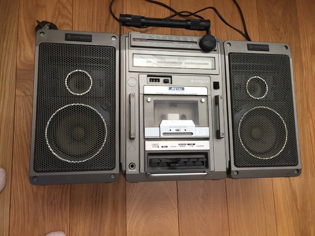 Hitachi cassette player/radio Model TRK-9140E, FOR PARTS ONLY | in Marlow,  Buckinghamshire | Gumtree