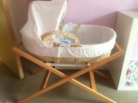 Moses Basket - excellent condition