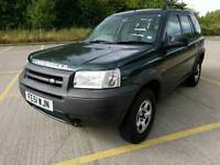 Land Rover Freelander s petrol 1.8 manual in great condition with service history and MOT