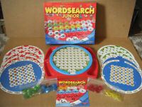 WORDSEARCH JUNIOR, Board game. Educational game for ages 4+. Complete.