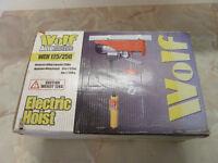 Wolf electric hoist