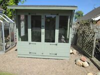 SUMMERHOUSE EXCELLENT CONDITION 8 FEET BY 8 FEET LESS THAN 1 YEAR OLD