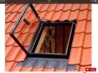 Velux side hung roof light.