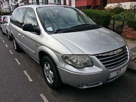 2007 57 Reg Chrysler Grand Voyager 2.8 CRD Executive Auto 7 Seater MPV MOT CD PCO Stow & Go Seats