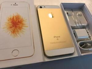 Apple iPhone SE 64GB Gold - UNLOCKED W/FREEDOM - 10/10 NEW - READY TO GO - Guaranteed Activation + No Blacklist