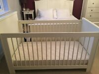 Cream Cot / Bed for Sale