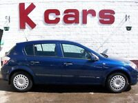 CHEAP INSURANCE VAUXHALL ASTRA 1.4 LIFE 5 DOOR 12 MONTHS MOT FULL SERVICE HISTORY LOW MILES