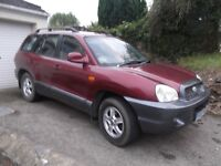 Hyundai Santa Fe CRDT for sale