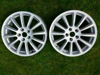 Jaguar belize alloy wheels 17 inch volvo ford