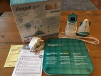 Angel care movement and sound baby monitor