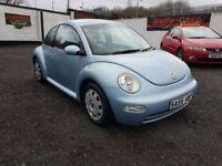 Volkswagen Beetle 1.6 3dr / 2005 (55 reg), Hatchback / SERVICE HISTORY/PLUS WARRANTY