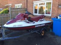 Seadoo gtx limited jet ski / jetski