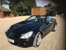 MERCEDES SLK 200 KOMPRESSOR New Tyres New Battery Long MOT