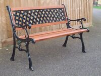 Summer is coming so how about a refurbished and as good as new 1.200 long garden seat